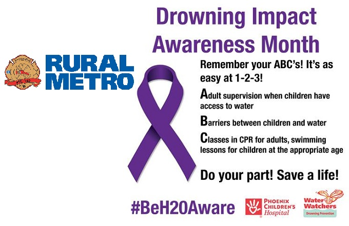 August is Drowning Awareness Month