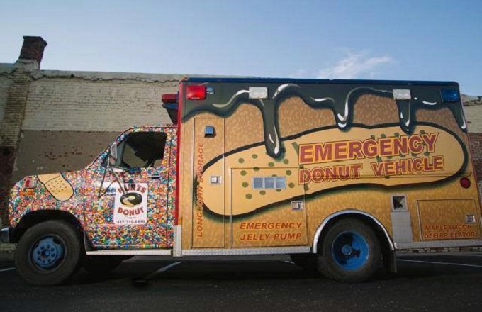 Emergency Hurts Donut Vehicle is Coming to San Tan Valley!